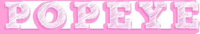 POPEYEロゴ